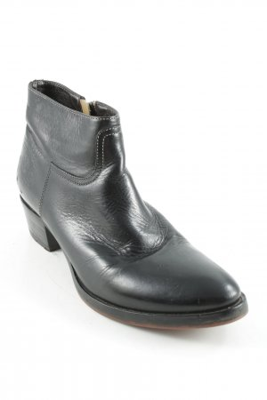 La Martina Ankle Boots schwarz-bronzefarben Casual-Look