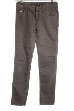 La Martina Five-Pocket Trousers brown casual look