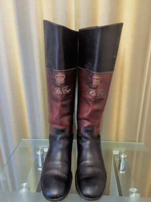La Martina Riding Boots brown leather