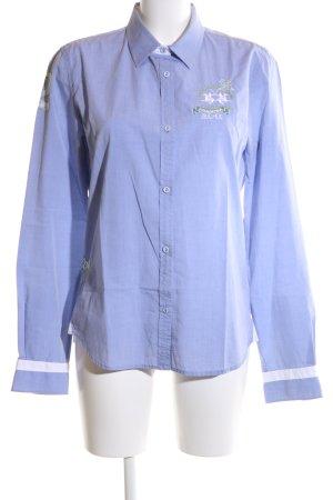 La Martina Hemd-Bluse blau Business-Look