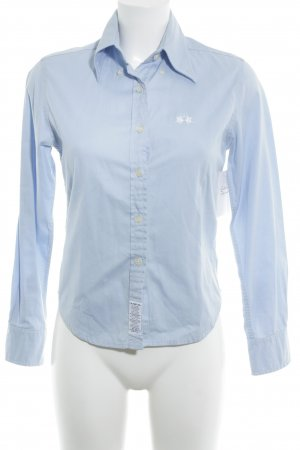 La Martina Hemd-Bluse himmelblau Business-Look