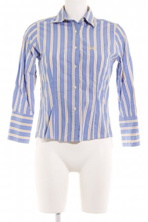 La Martina Blouse-chemisier bleu azur motif rayé style d affaires 8992ad6f817
