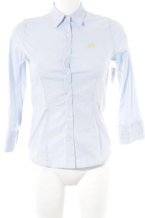 La Martina Langarm-Bluse himmelblau Casual-Look