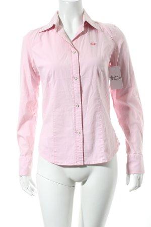 La Martina Langarm-Bluse rosa Casual-Look