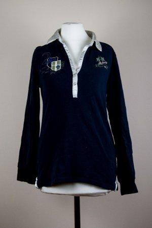 La Martina Langarm Poloshirt Gr. S