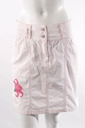 La Martina Minigonna rosa chiaro Cotone