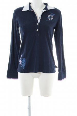 La Martina Polo-Shirt blau Casual-Look