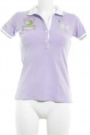 La Martina Polo-Shirt grafisches Muster Casual-Look