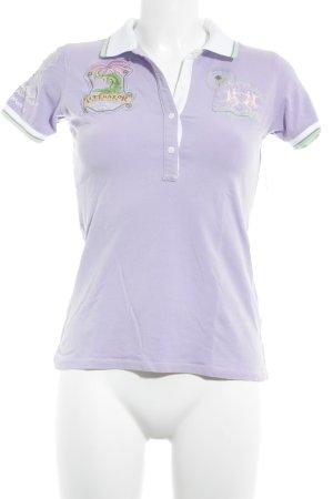La Martina Polo shirt grafisch patroon casual uitstraling
