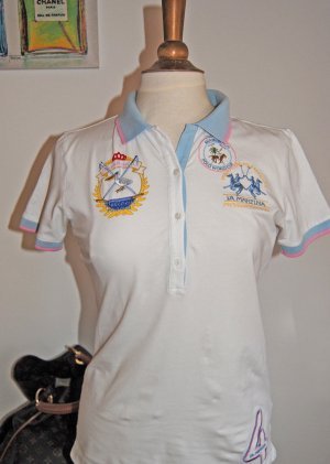 La Martina Polo Shirt multicolored cotton