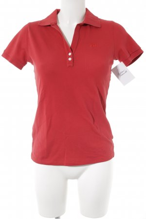 La Martina Polo-Shirt neonrot Casual-Look