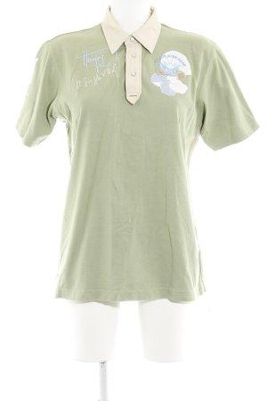 La Martina Polo-Shirt Schriftzug gestickt Casual-Look