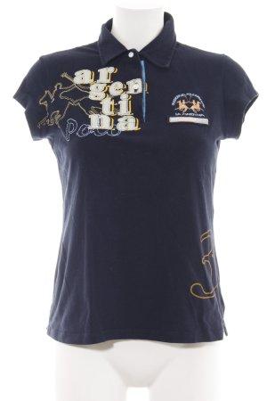La Martina Print-Shirt Motivdruck Casual-Look
