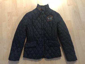 La Martina Quilted Jacket dark blue