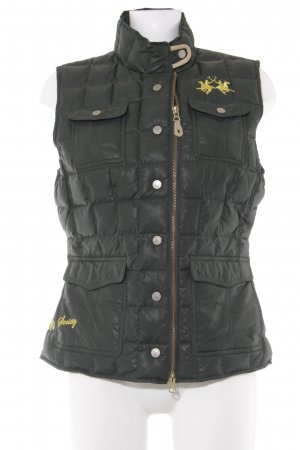 La Martina Quilted Gilet petrol athletic style