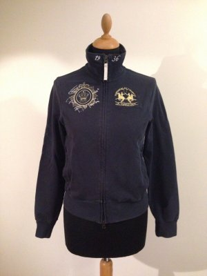 La Martina Sweatjacke Sweat Trainingsjacke Segeln Polo Golf navy Stickerei Logo s m