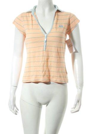 La Martina T-Shirt Streifenmuster sportlicher Stil