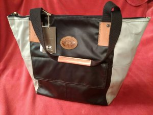 LA MARTINA Tote Bag - Shopper Large - dark brown NEU