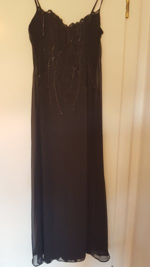 la perla Abendkleid schwarz