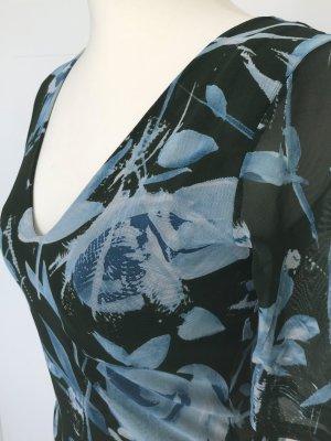 La Perla BH, String und Shirt, Wäsche-Kombi mit Blumenmuster