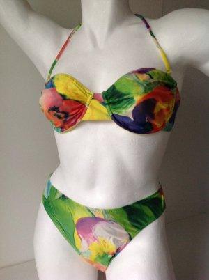 LA PERLA Bikini farbig Gr. IT 46 DE 40 ++OT mit Bügel