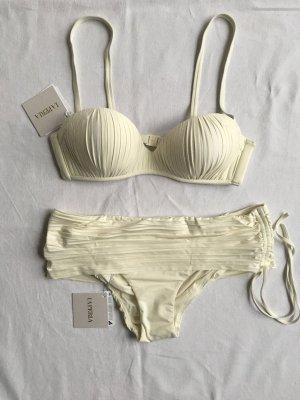 La Perla, Bikini, offwhite, 38/40, neu, € 390,-