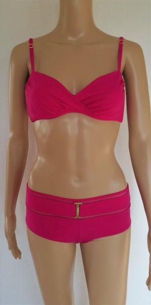 La Perla, Bikini, pink, 38 C (It. 44 C), Polyamid/Elasthan, neu, € 350,-