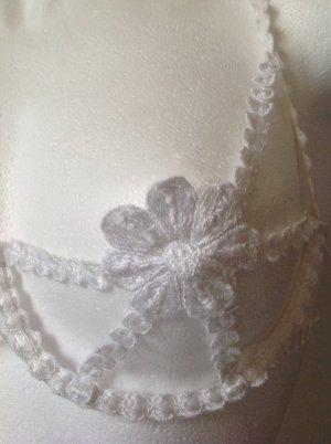 La perla Brassier blanco