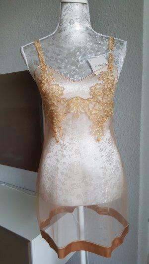 La Perla Dessous Kleid Negligee Luxus Gold