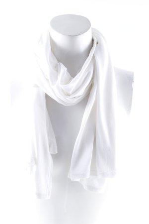La perla Halsdoek wit casual uitstraling