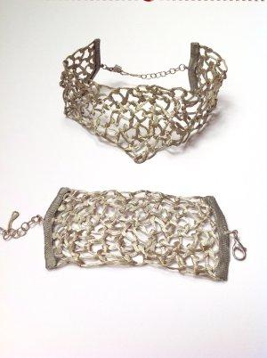 La perla Necklace silver-colored