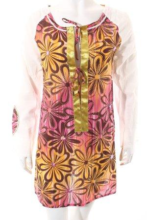 La perla Shirttunika florales Muster extravaganter Stil