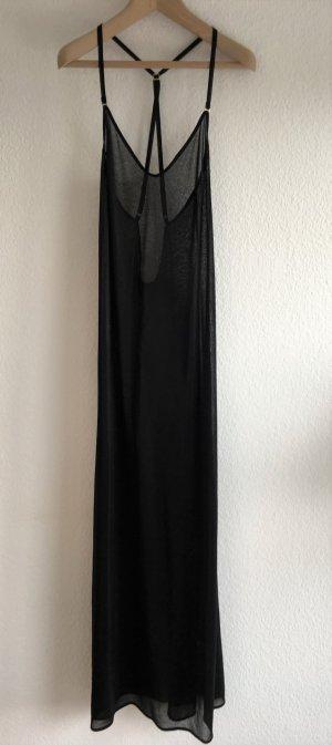 La perla Strandjurk zwart Gemengd weefsel