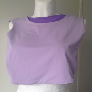 La perla Silk Top purple-lilac polyamide