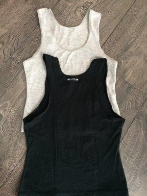 La Perla Tops in grau und schwarz
