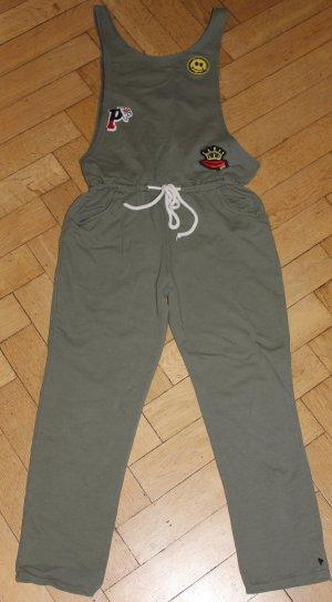 La petite Parisienne Jumpsuit Overall Auda Gr. S khaki oliv