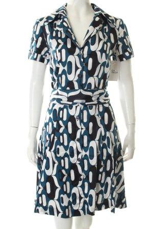 la rochelle A-Linien Kleid abstraktes Muster Street-Fashion-Look