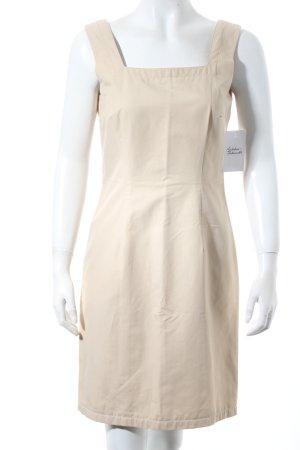 la rochelle Etuikleid beige klassischer Stil