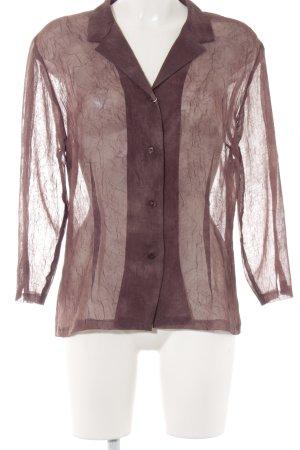 la rochelle Hemd-Bluse dunkelbraun Casual-Look