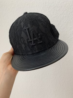 New Era Gorro plano negro