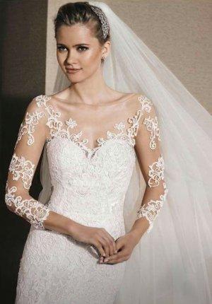 La Sposa Pronovias Modell Rada Brautkleid Hochzeitskleid 38 Ausstellungsstück