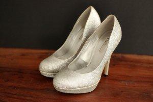 La Strada High Heels/Pumps Silver Glitter