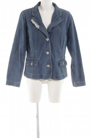 La Strada Denim Blazer blue casual look