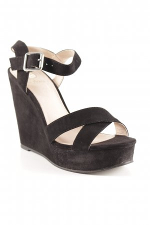 La Strada Platform High-Heeled Sandal black street-fashion look