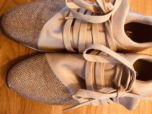 La Strada Sneaker in Gold mit Glitzer, Neu!