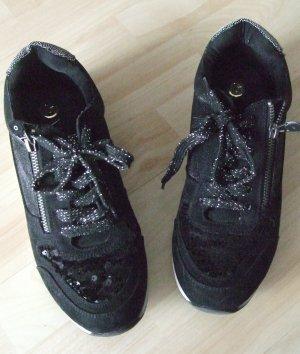 La Strada Sneaker mit Glitzer und Pailletten