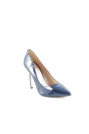 La Strada Spitz-Pumps dunkelblau Elegant