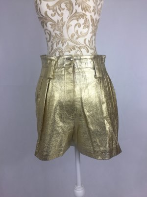 Short Trousers gold-colored