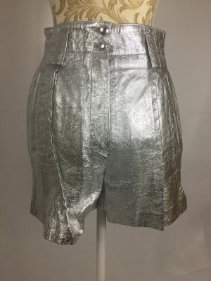 Short Trousers silver-colored