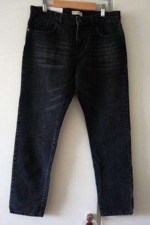 Lab Dip Paris Jeans dunkelgrau/schwarz Gr. S (36) Relax Boyfriend Style Straight